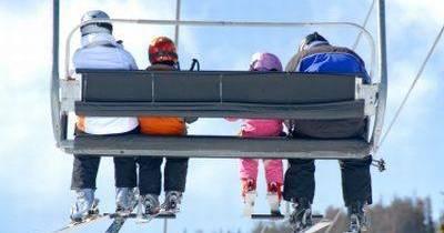 Wunderbares Skifahren